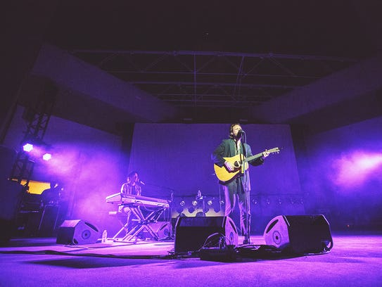 Father John Misty performs at FORM Arcosanti festival
