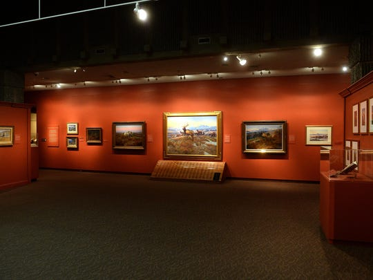 C.M. Russell paintings are on display at the Russell