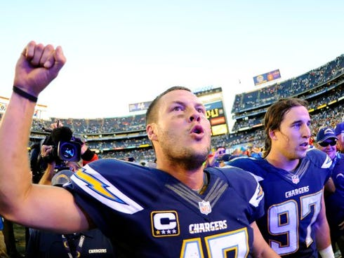 San Diego Chargers quarterback Philip Rivers can expect a Super Bowl ring according to one stat.