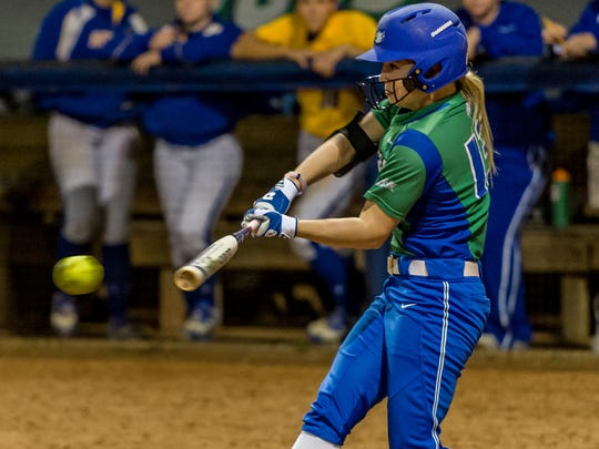 Freshman first baseman Racquel Fournet is only the fourth FGCU player to be named Atlantic Sun Conference Player of the Week twice in one season.