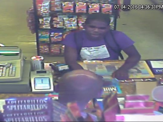 Tallahassee Police are seeking this man in connection with a robbery Monday