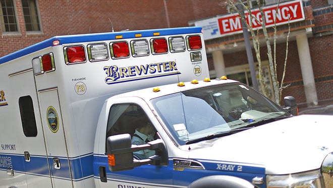 Brewster Ambulance Service was among the South Shore's largest recipients of a federal coronavirus payroll loan program. Greg Derr/The Patriot Ledger