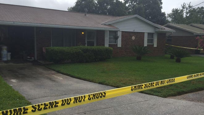 Mary Esther home of homicide investigation.