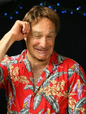 Comedian/impressionist Roger Kabler as Robin Williams
