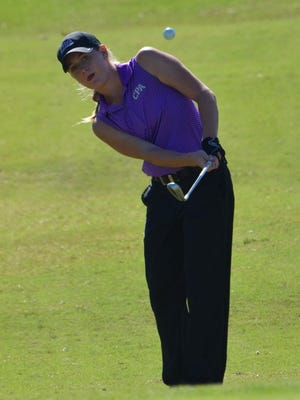 CPA's Siarra Stout shot a 2-over 74 on Tuesday.
