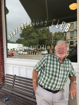 Bill Tubbs came to town for the Newport Antique Auto Hill Climb and stayed on because of it. Sunday, the event celebrates its 50th anniversary and the  town of about 500 will be crowded with tens of thousands of people.