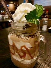 Mississippi Mud, a chocolate mousse dessert at The