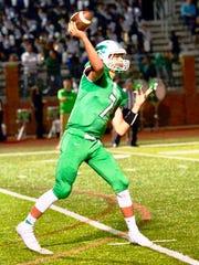 Novi senior quarterback Alec Bageris has thrown for