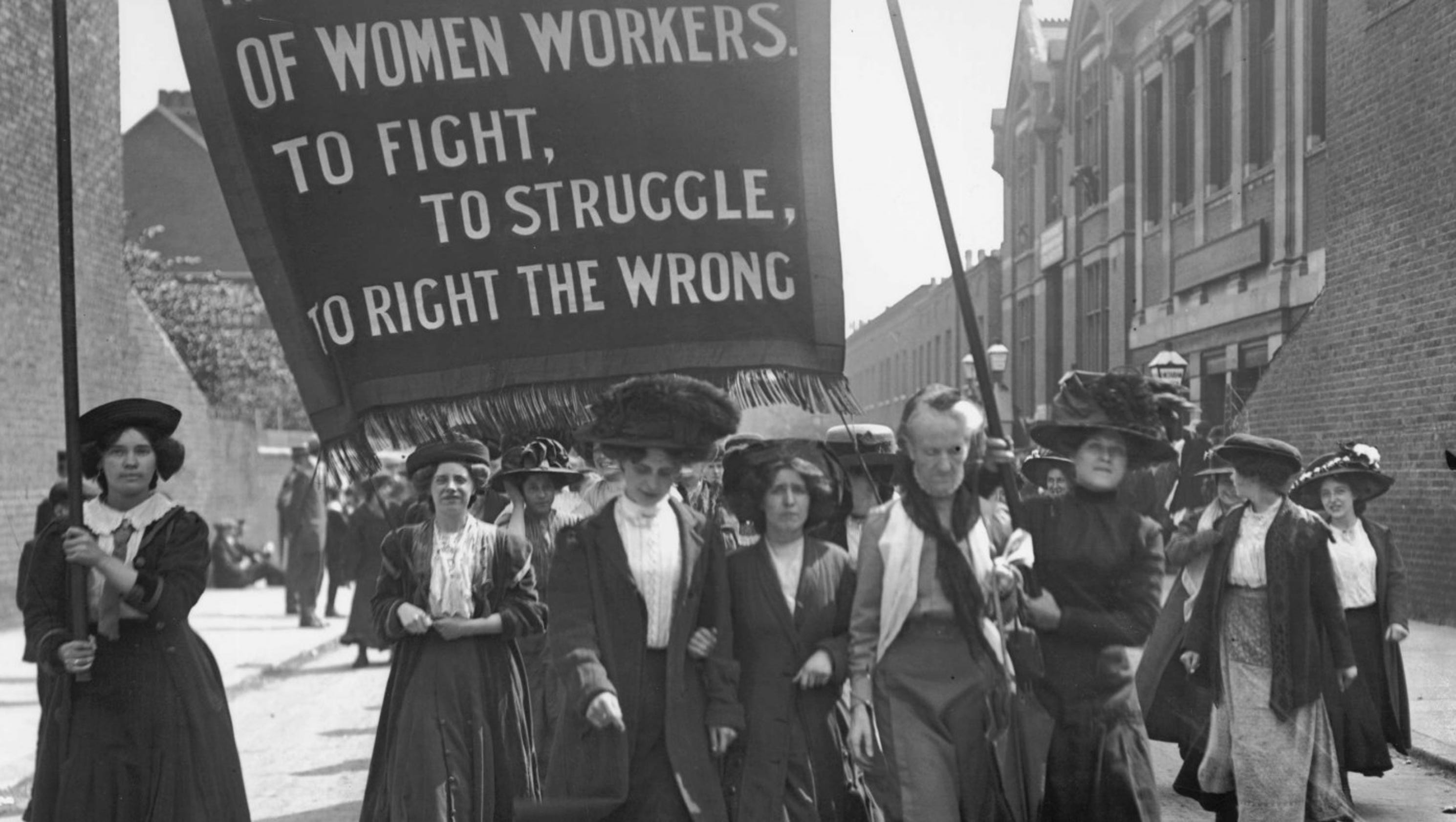 Spanning Time: Help re-enact women's suffrage parade of 1913