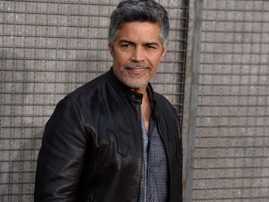 Esai Morales was one of two grand marshals for the Presidents Day parade at the Riverside County Fair and National Date Festival in Indio.