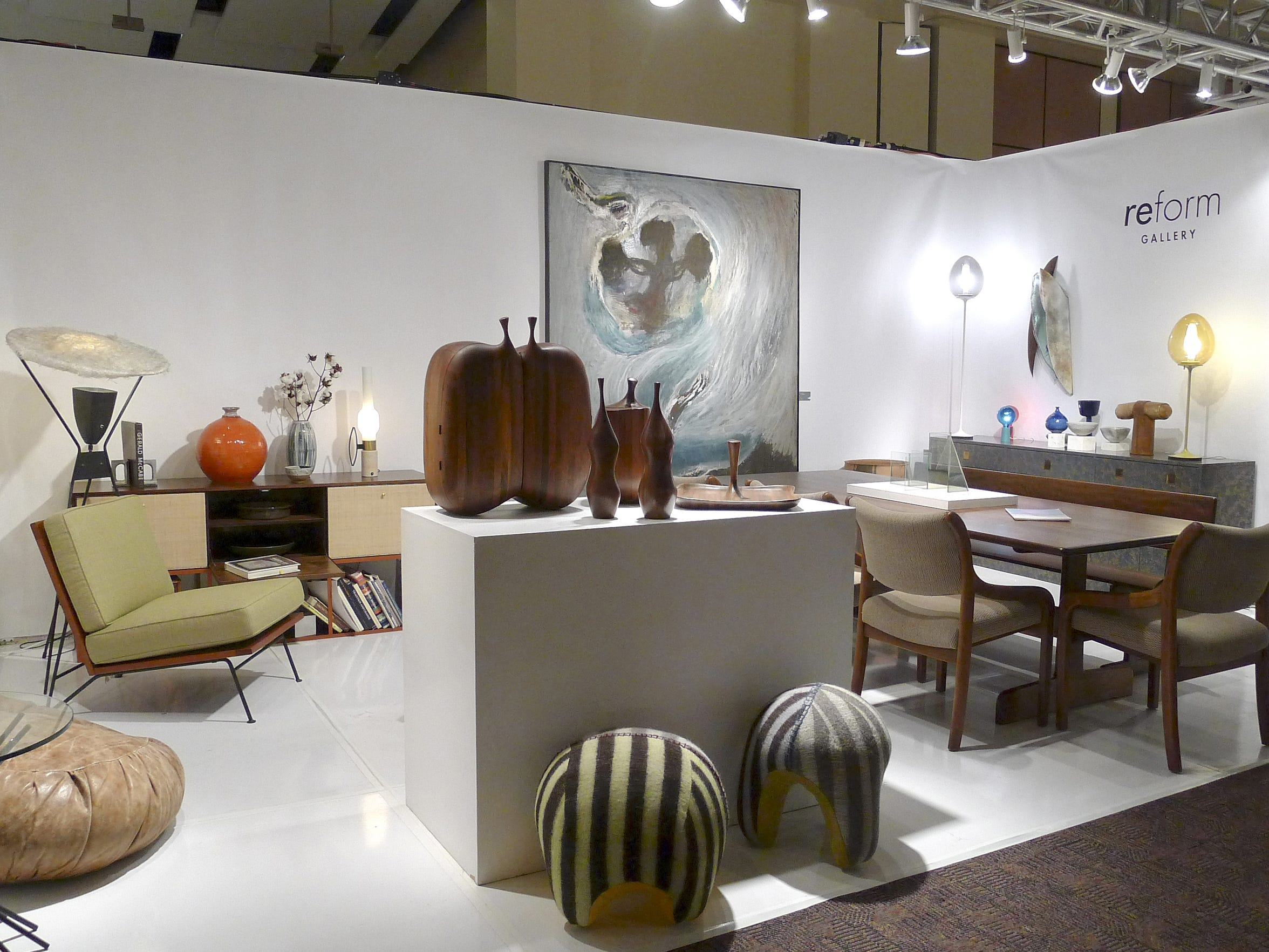 Exhibitor Reform Gallery of Los Angeles at the Modernism Show and Sale.