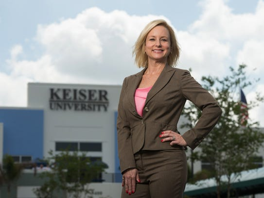 Leslie Kristof is Keiser University Port St. Lucie