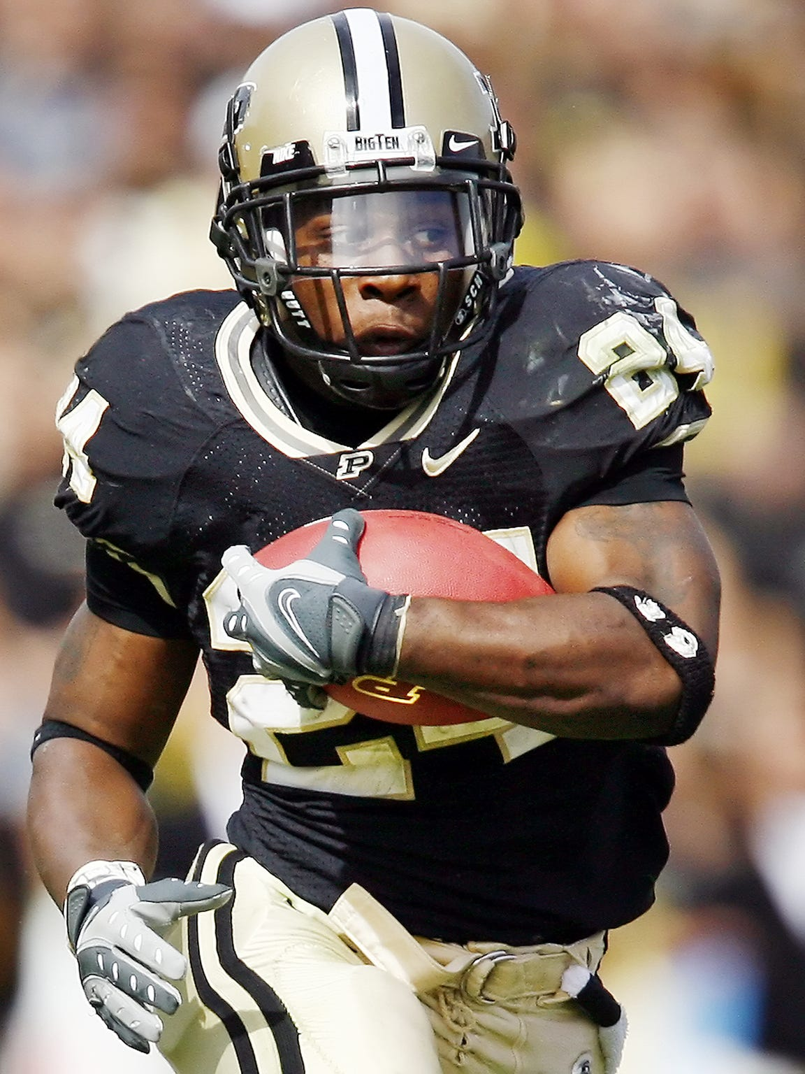 Kory Sheets is Purdue's No. 2 career rushing leaders.