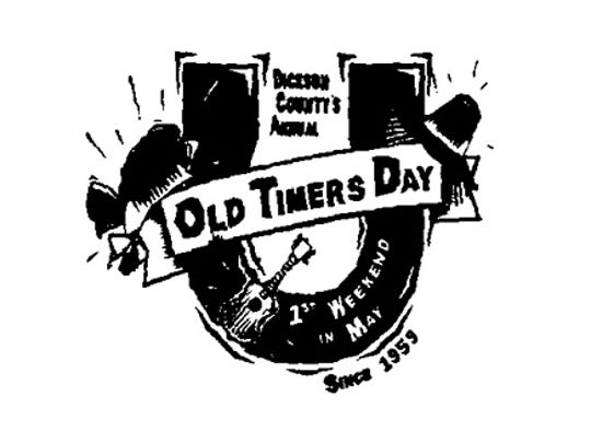 Old Timers Day logo.