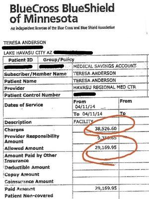 Teresa Anderson's bill