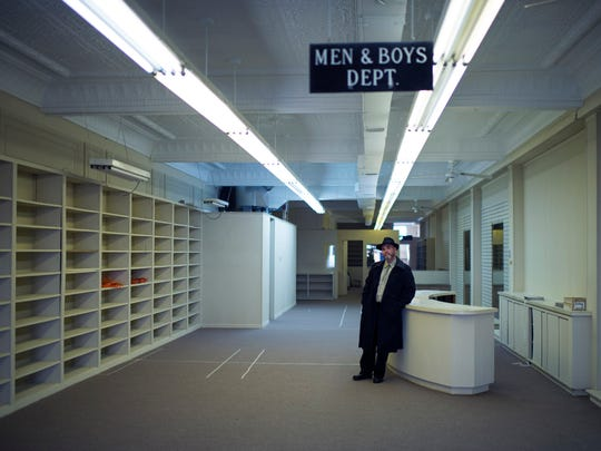 Brewer Steve Wozniak stands inside what used to Martini Shoes Inc. on Landis Ave Wednesday, Jan. 13 in Vineland. Wozniak plans to convert the space into Brinx Jones Brewing Company by this Spring 2016.
