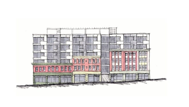 Stream Collaborative's Noah Demarest, working with developer Todd Fox, is looking to reimagine a historic block on Aurora Street.