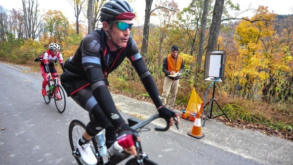 Retired veteran Tour de France rider George Hincapie