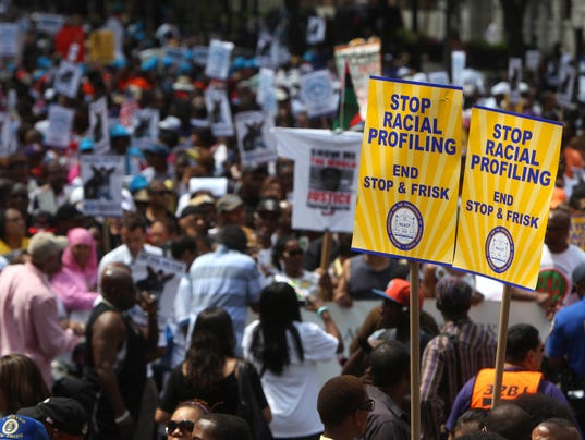 AP STOP AND FRISK MARCH A USA NY