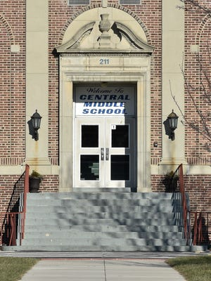 Central Middle School in Dover was among the schools evacuated Tuesday.