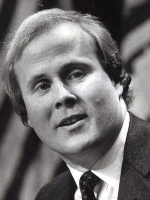 Carl Brown in 1982.