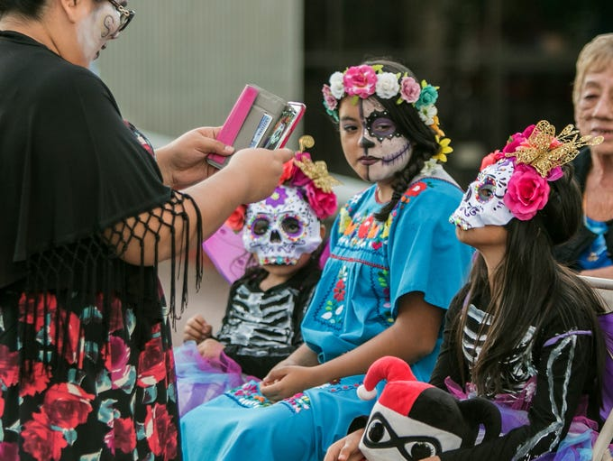 2016 All Souls Procession in Tucson, AZ. on Sunday,
