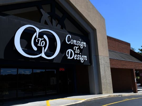 Consign to Design on Kingston Pike has expanded after only a year and also recognized  for their partnership with design students at community colleges. Wednesday, Jun. 7, 2017.