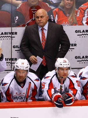 Washington Capitals head coach Barry Trotz has led his team to the Presidents' Trophy for the second year in a row.