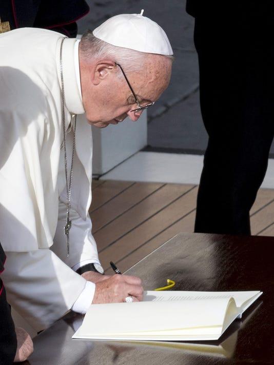 EPA VATICAN POPE FRANCIS REL BELIEF (FAITH) VAT