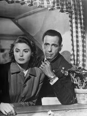 Ilsa Lund (Ingrid Bergman) and Rick Blaine (Humphrey