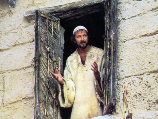 "Graham Chapman as Brian ""Monty Python's Life of Brian."""