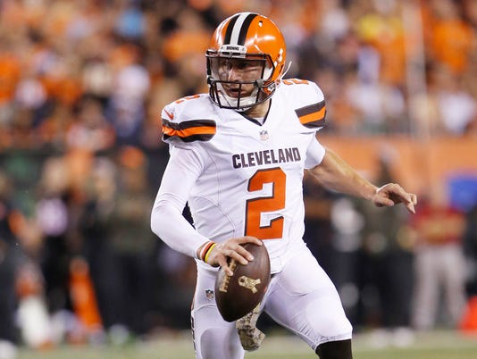 USP NFL: CLEVELAND BROWNS AT CINCINNATI BENGALS S FBN USA OH