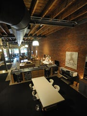 Architect Kevin Bryan's downtown office space.