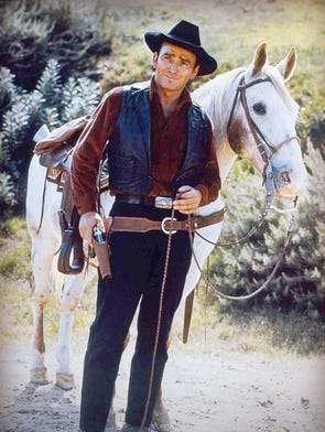 "James Drury, who grew up in Salem, was the star of the western TV series ""The Virginian,"" which aired on NBC from 1962 to 1971."