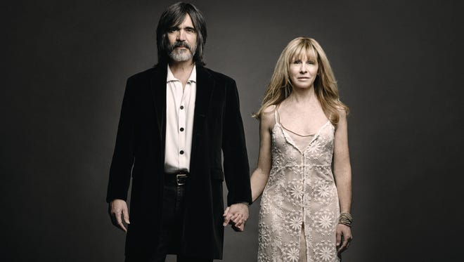 Larry Campbell and Teresa Williams perform Saturday at Higher Ground.