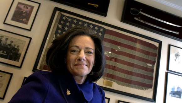 """Kathleen """"KT"""" McFarland is seen at her home in New"""