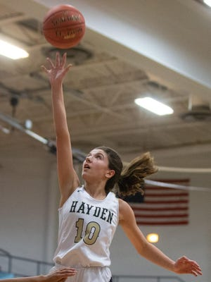 Hayden junior Macy Smith averaged 9.4 points and 4.5 rebounds last season for the 9-12 Wildcats.