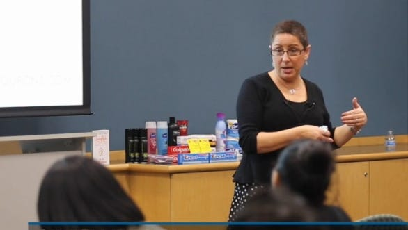 Cindy Livesey recently held a couponing workshop at The News Journal