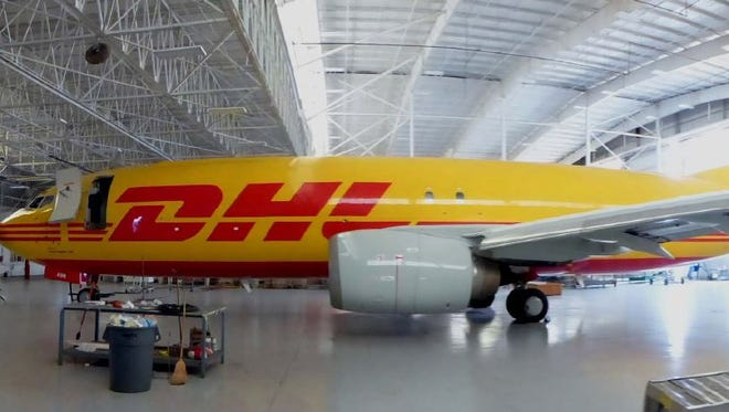Florence-based Southern Air has expanded its fleet as part of a new contract with DHL.