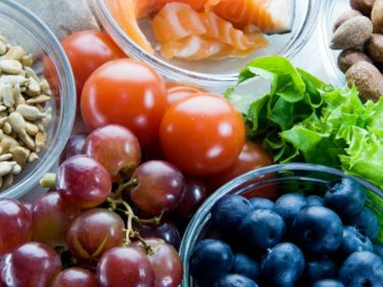 Eating healthy foods can help ward of illness.