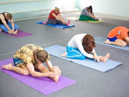 Yoga classes begin April 5 PHOTO CAPTION