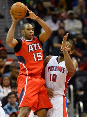 Atlanta Hawks center Al Horford (15) was named a reserve for the NBA All-Star game Thursday.
