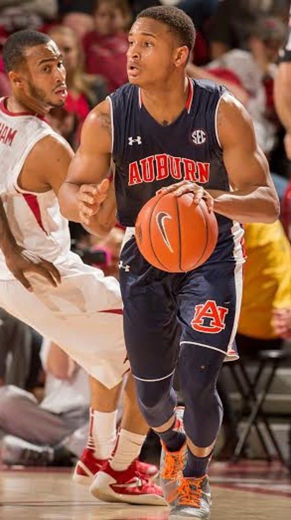 Auburn freshman guard Bryce Brown is the only perimeter
