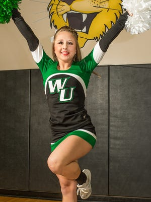 Be Motivated: How a high school senior is earning college credit and a cheerleading scholarship