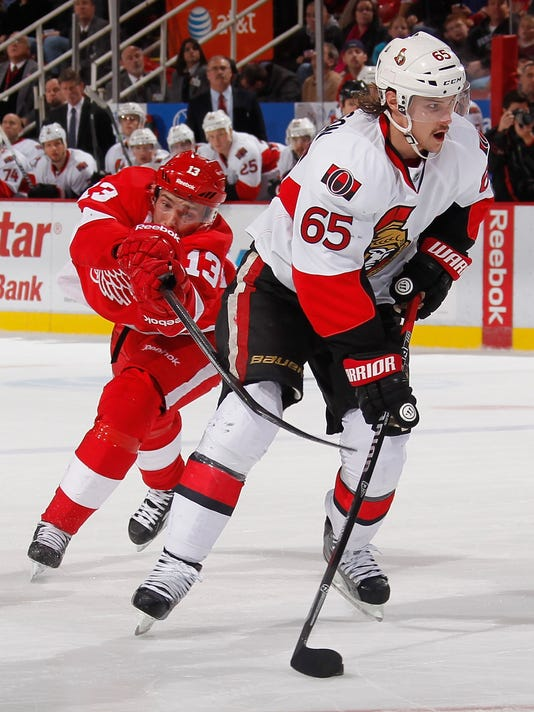 Ottawa Senators v Detroit Red Wings