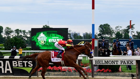 USP HORSE RACING: 150TH BELMONT STAKES S RAC USA NY