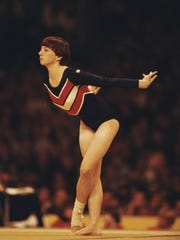 Marcia Frederick, shown competing in 1978, is the first