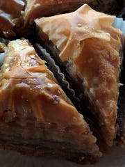 Baklava is one of the treats at the annual Greek Food Festival set for Friday and Saturday at the Holy Mother of God Greek Orthodox Church.