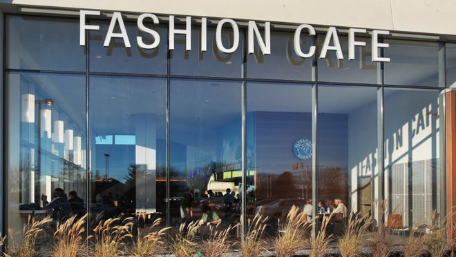 Drop your luxury car off outside the Fashion Cafe.