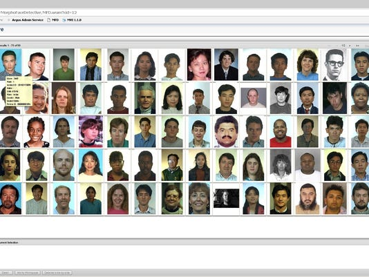Facial recognition gallery